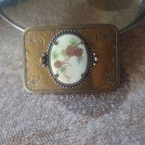 Boho/Western belt buckle Ladies/custom made